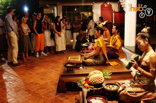 Thai craft demonstartions
