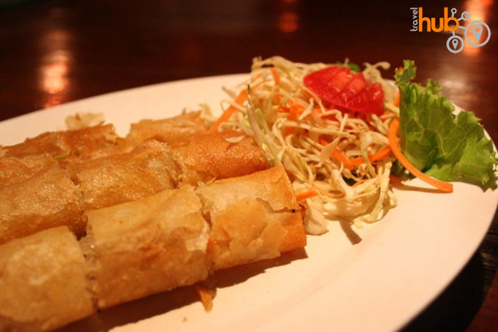 Spring Rolls will often be on the menu