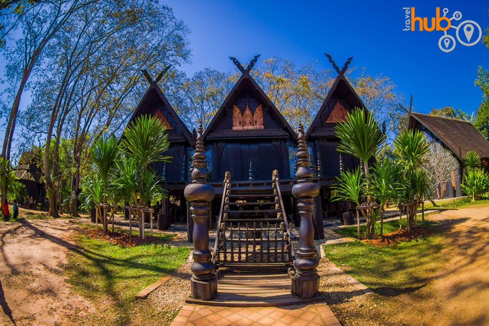 You will see an eclectic display of artifacts at Baan Dam