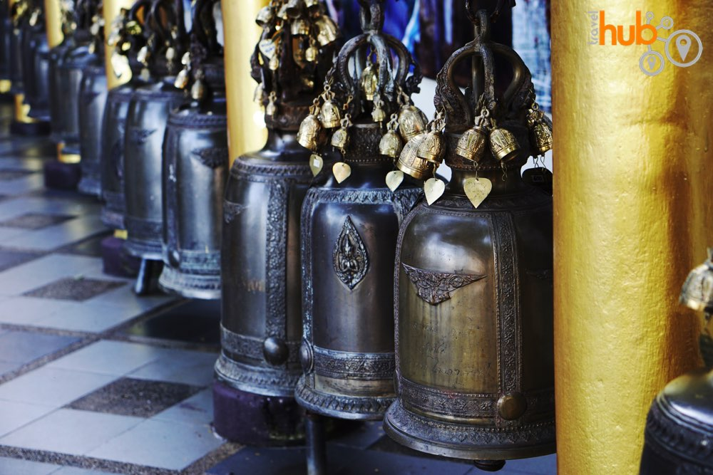 Give the bells a ring at the temple
