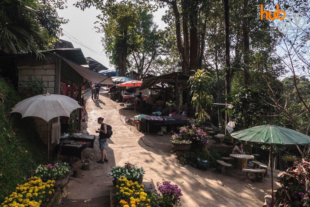 At the Hmong village