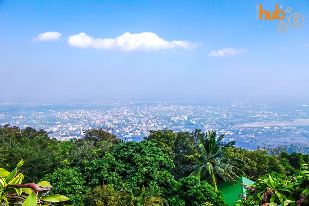 Enjoy the splendid views from Doi Suthep Temple
