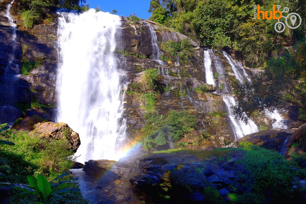 The marvellous Wachiritharn waterfall in Doi Inthanon National Park