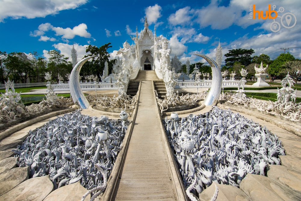 And we will be visiting Wat Rong Kuen