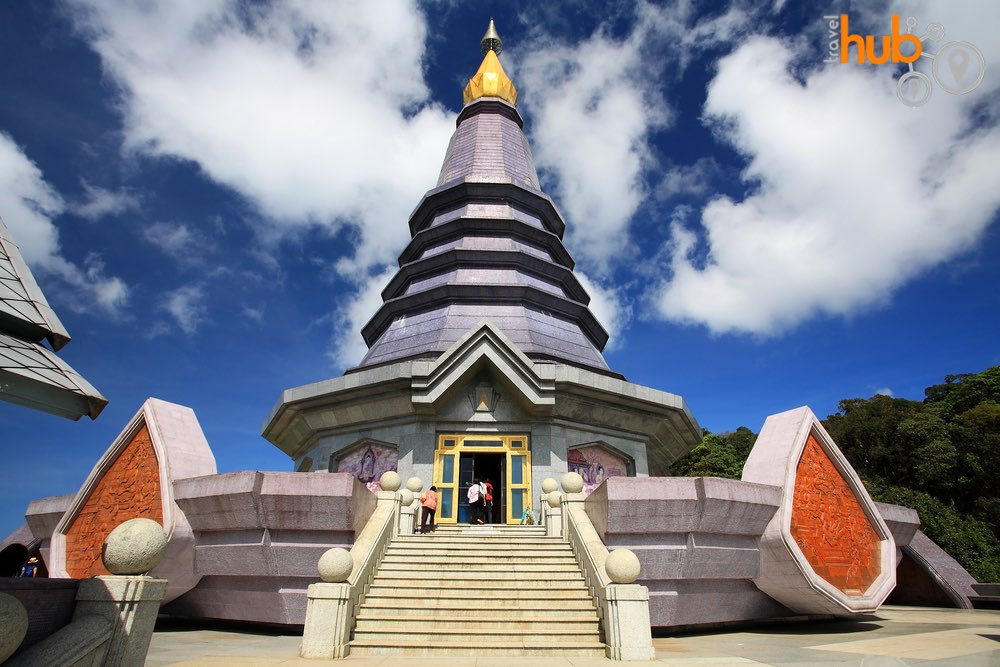One of the pagodas in Doi Inthanon National Park
