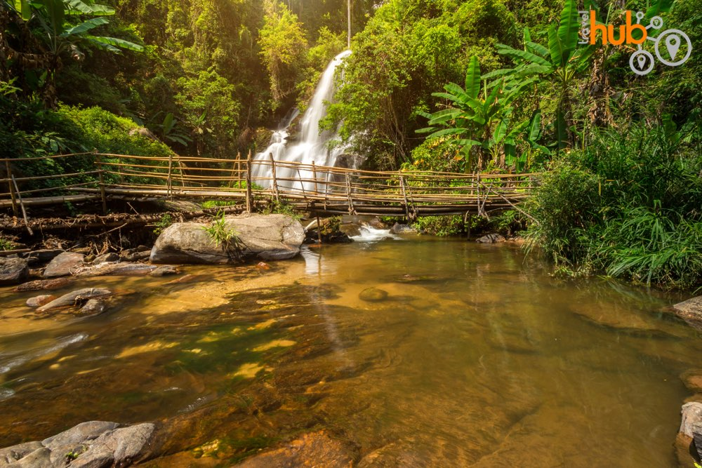 On the Mae Kland Luang trek you will be rewarded with the sight of Doi Inthanon's prettiest waterfalls, Pa Dok Siew