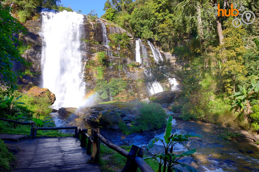 The magnificent Wachiritharn Waterfall in Doi Inthanon National Park