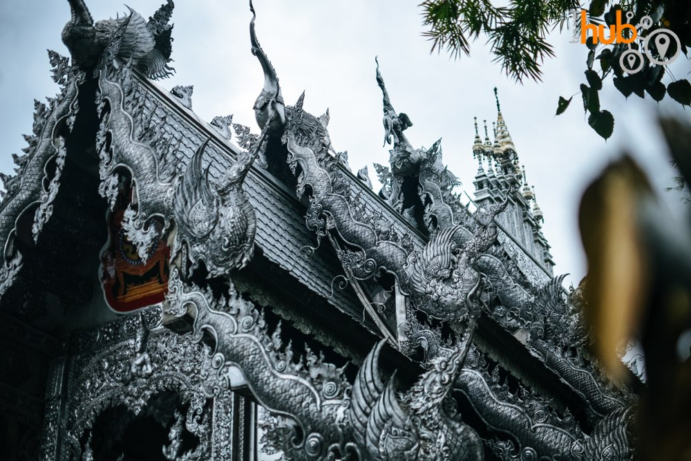The silver clad Wat Sri Suphan