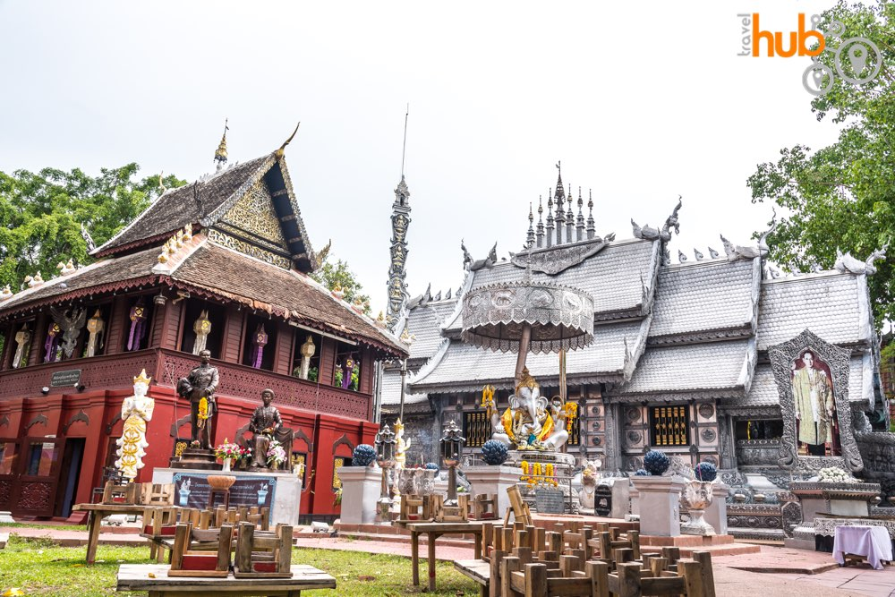 We will visit the silver Wat Sri Suphan on day 1 of this package