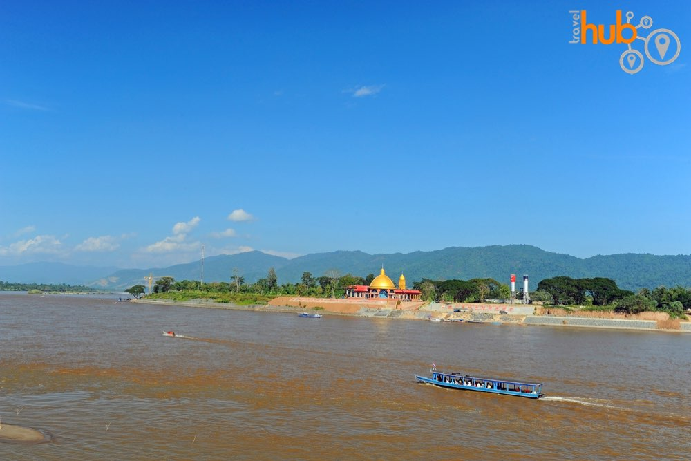 We wil stop at The Mekong River where three countries meet