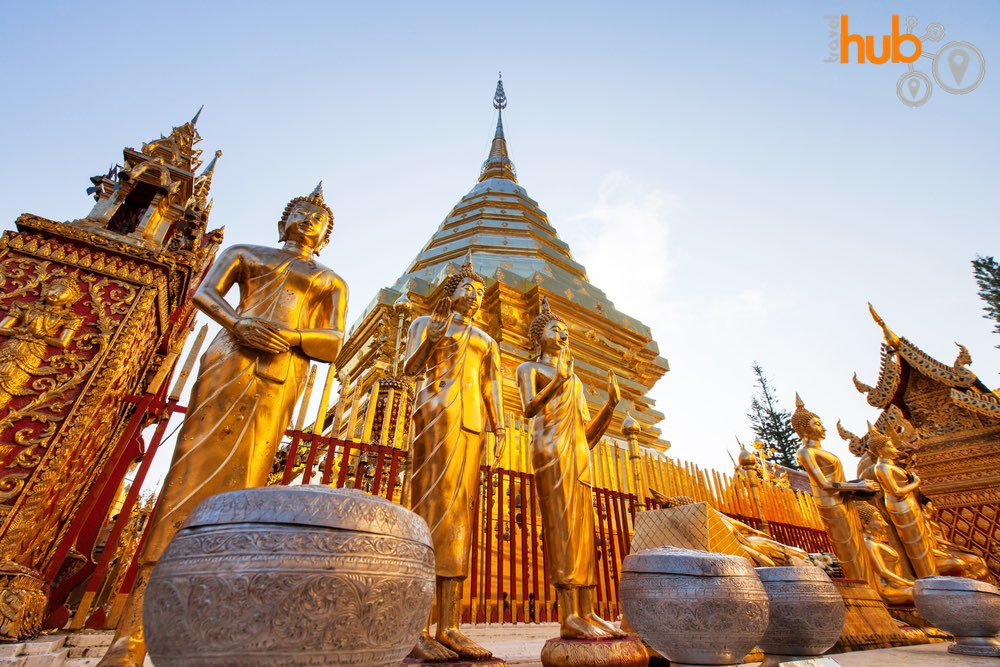 And of course we will be visiting Chiang Mai's most famous temple