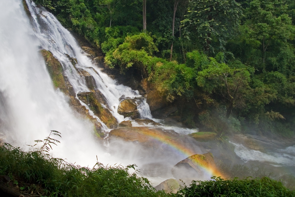 Wachirithan is one of two waterfalls we will visit in Doi Inthanon National Park