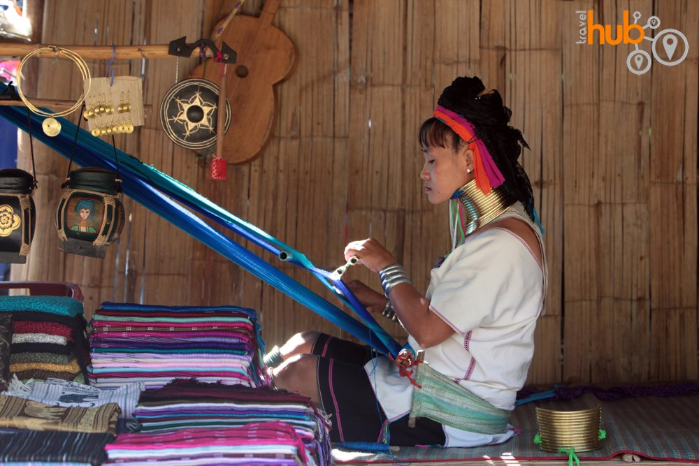 if you want to buy some hill tribe fabric then but directly from the makers!