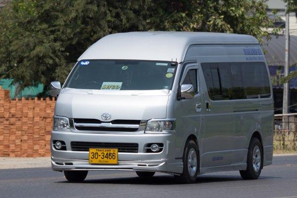 Bus to Luang Prabang