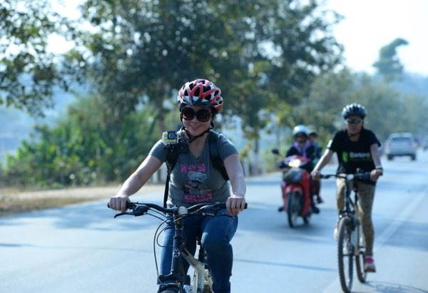Chiang Mai cycling and trekking trip
