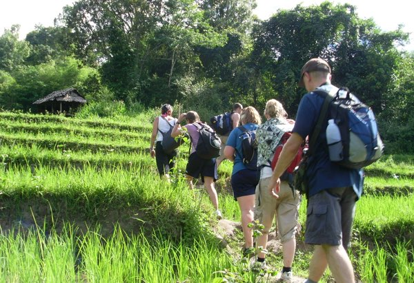 Chiang Mai cycling and trekking