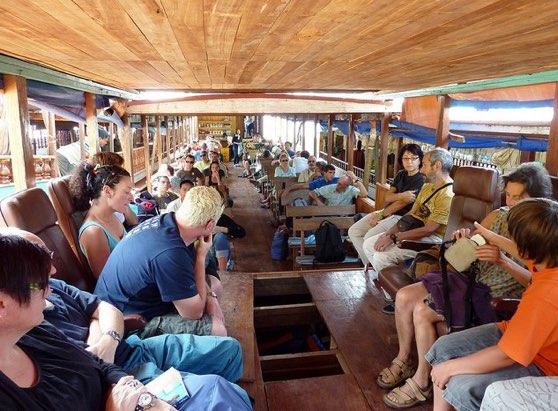 Slow boat to Luang Prabang package